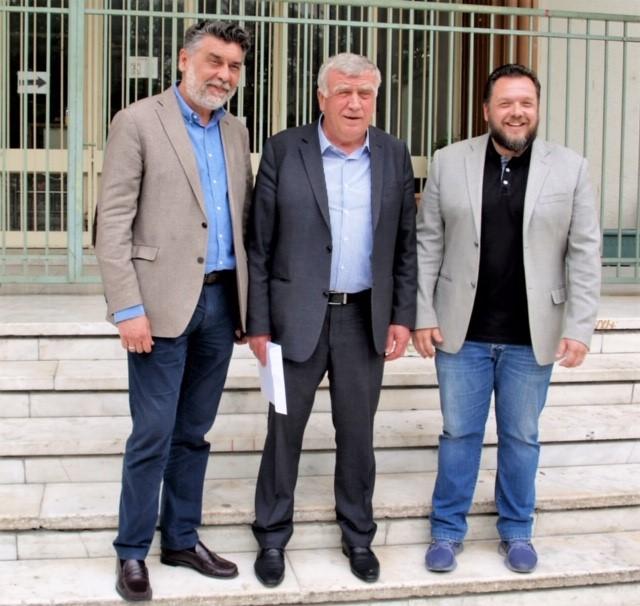 Από τους πρώτους στο νομό Λάρισας κατέθεσε το συνδυασμό του «Νέο Κιλελέρ» στο πρωτοδικείο ο Θανάσης Νασιακόπουλο