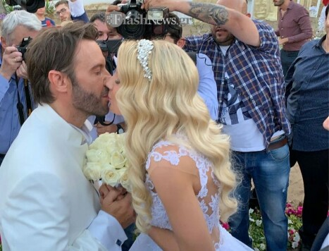 Παντρεύτηκαν Τζώρτζογλου - Μαριόλα