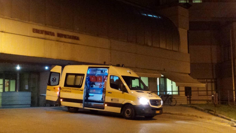 Έφυγε και… γύρισε απ' τον άλλο κόσμο, 57χρονος που διακομίστηκε στο Γενικό Νοσοκομείο στη Λάρισα
