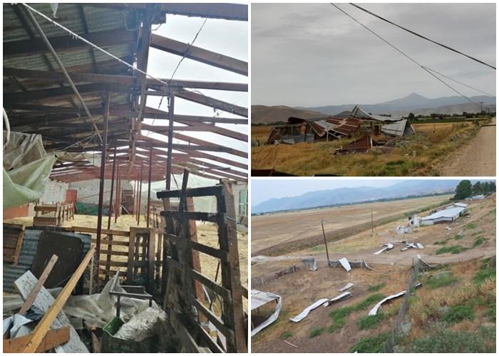 Σε κατάσταση έκτακτης ανάγκης περιοχές του Δήμου Τυρνάβου