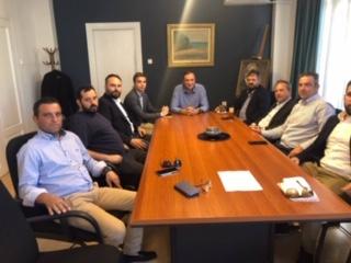Συνάντηση Δημάρχου Τυρνάβου με τον Πρόεδρο του Ινστιτούτου Γεωπονικών Επιστημών