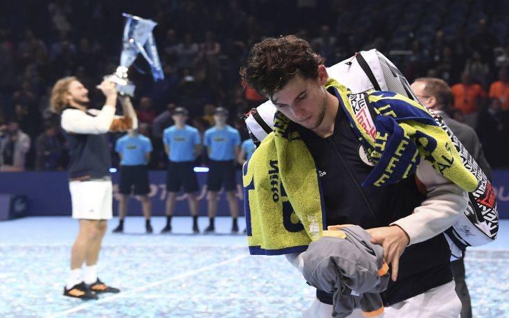 Στέφανος Τσιτσιπάς: Ο νεότερος παίκτης που κερδίζει το ATP Finals από το 2001