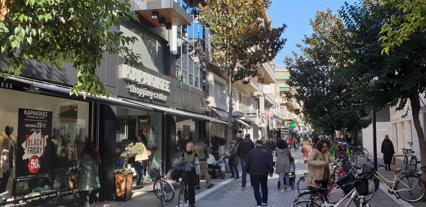 Τρίκαλα: Ανοίγουν χωρίς περιορισμούς σε πελάτες τα καταστήματα