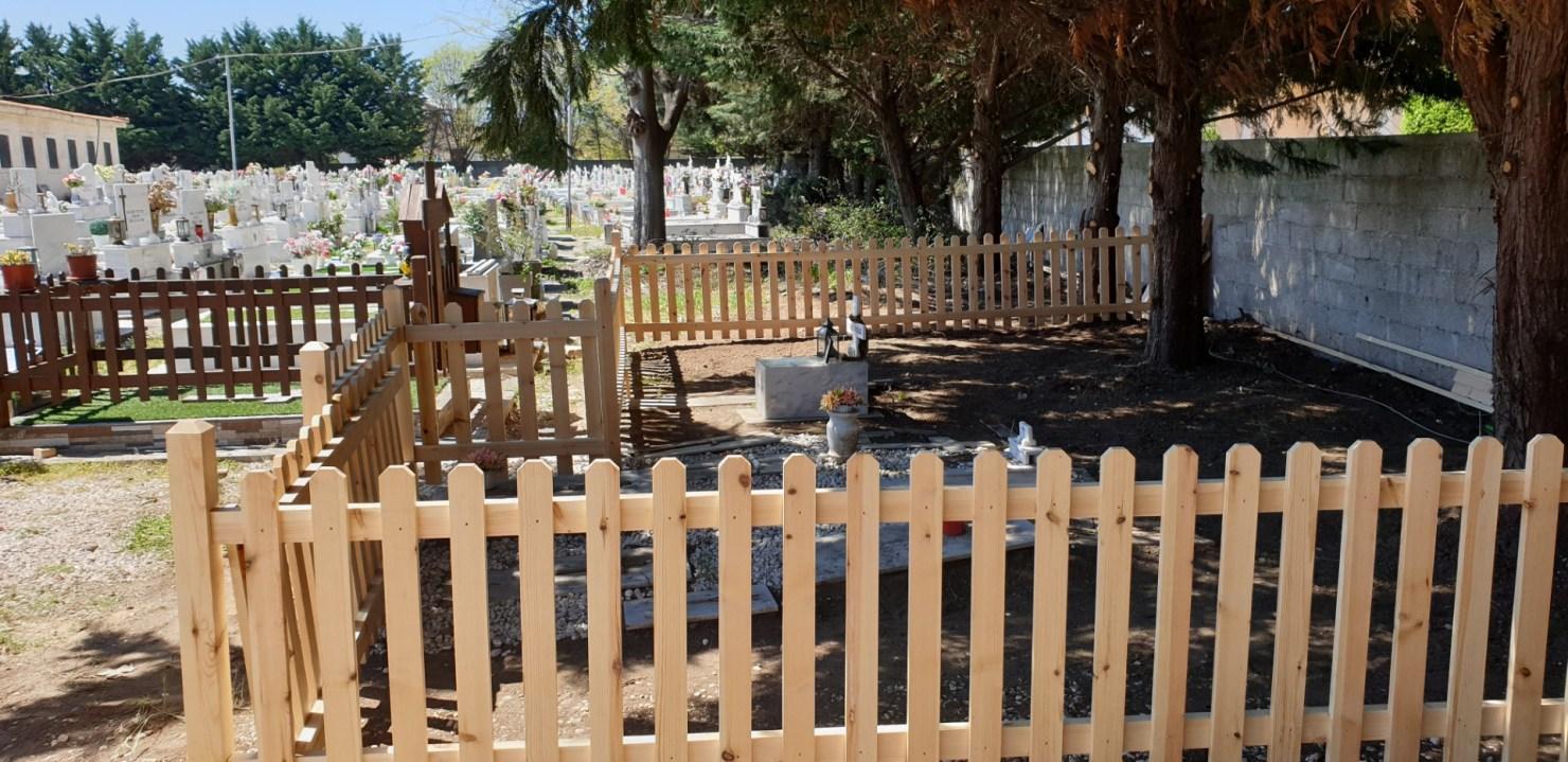 Χώρος ταφής για βρέφη στο Α΄ Νεκροταφείο Τρικάλων