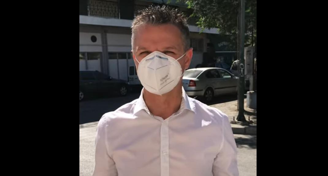 Λάρισα: Εκτεταμένες ιχνηλατήσεις και απομάκρυνση των θετικών κρουσμάτων από την Νέα Σμύρνη (video)