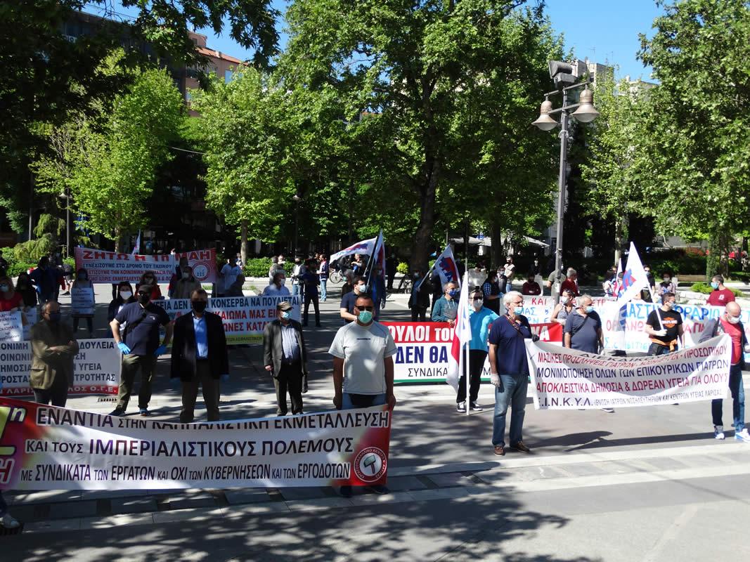 Λάρισα: Πρωτομαγιά με εκδηλώσεις και… μέτρα ασφαλείας (ΦΩΤΟ)