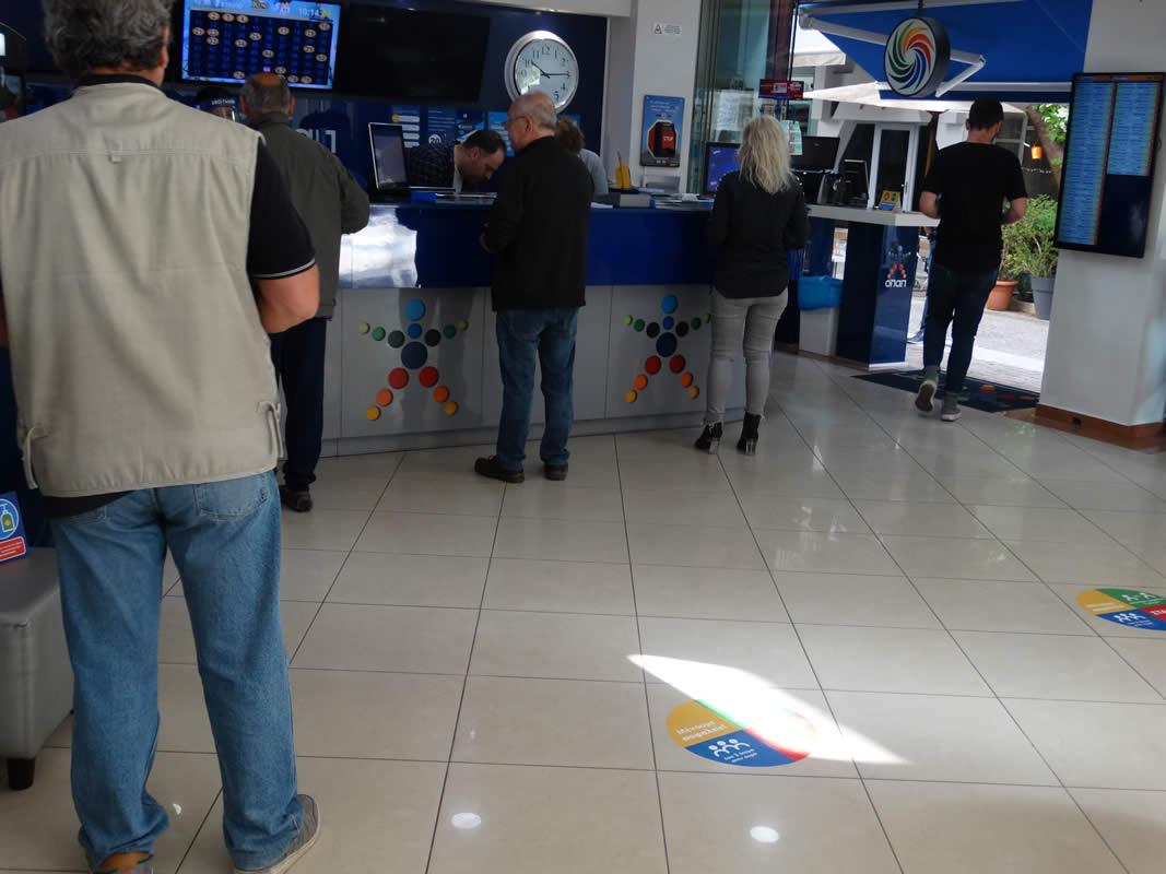 Σήκωσαν ρολά τα καταστήματα της Λάρισας  - Δείτε φωτογραφίες από την αγορά