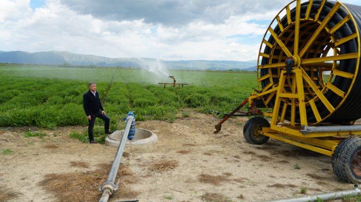 1,9 εκατ. ευρώ από την Περιφέρεια Θεσσαλίας για υπόγειους αγωγούς άρδευσης στον ΤΟΕΒ Μάτι Τυρνάβου