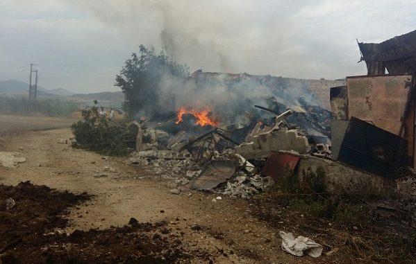 Λάρισα: Καταστροφή σε ποιμνιοστάσιο τον Αμπελώνα - Στάχτη τα πρόβατα - ΦΩΤΟΓΡΑΦΙΕΣ