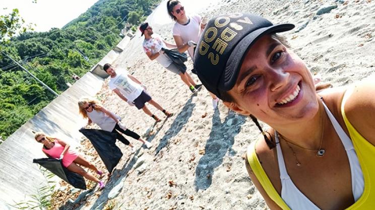 Αυτή την παραλία της Λάρισας καθάρισαν