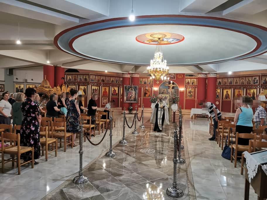 Λάρισα: Εσπερινός στη μνήμη της Οσίας Ειρήνης Χρυσοβαλάντου (ΦΩΤΟ - ΒΙΝΤΕΟ)