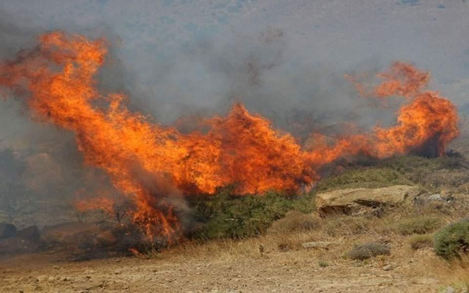 Καρδίτσα: Νεκρός άντρας σε πυρκαγιά στην Κρύα Βρύση