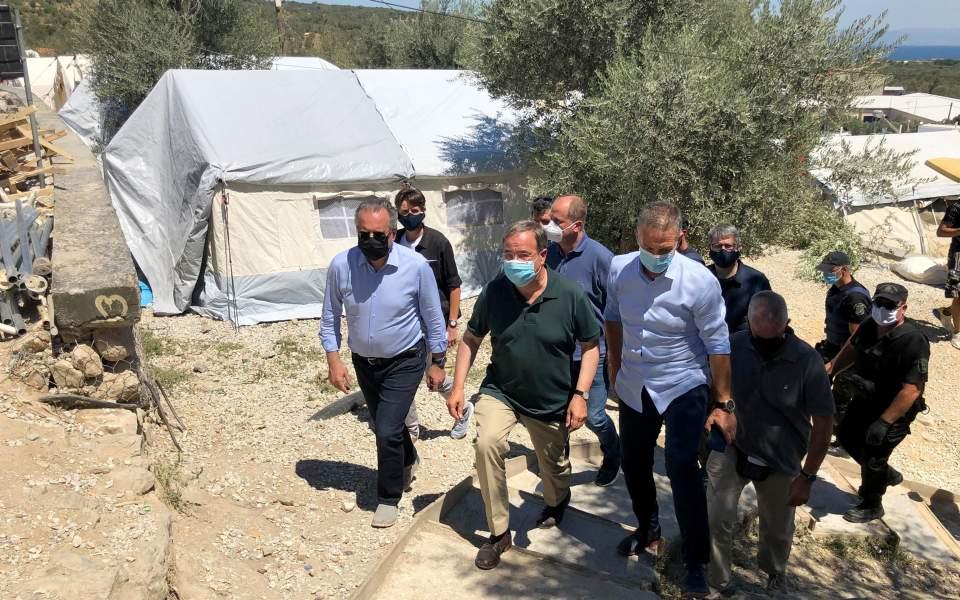 Γ. Κουμουτσάκος από Λέσβο: Η ελληνογερμανική συνεργασία στο μεταναστευτικό αποδίδει καρπούς