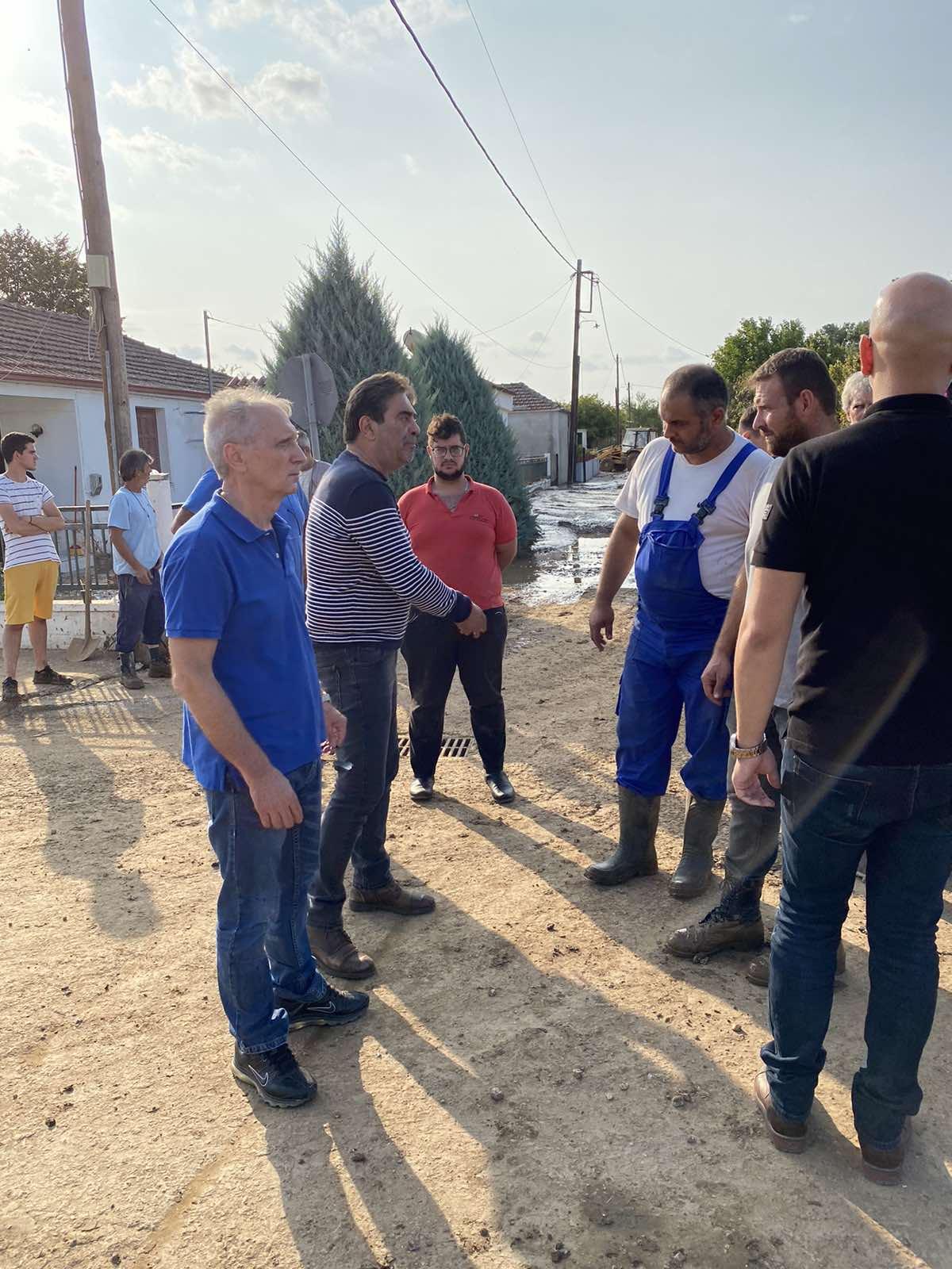 Δραματική εξέλιξη από τον Ιανό: Κίνδυνος να εγκαταλειφθούν και τα πεδινά χωριά -  Χάθηκε γόνιμο έδαφος σε Φάρσαλα, Αλμυρό, Καρδίτσα