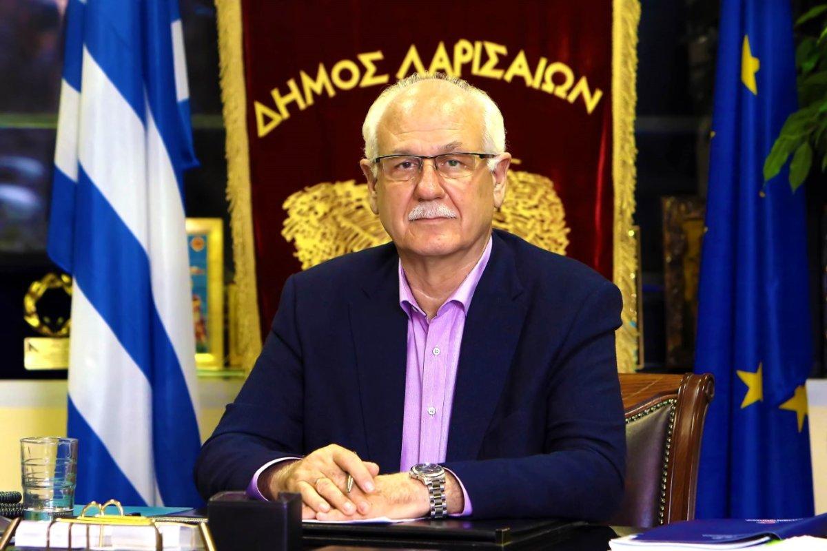 Στέλνει μήνυμα στους Λαρισαίους ο δήμαρχος Απ. Καλογιάννης για την αύξηση των κρουσμάτων κορωνοϊού στη Λάρισα