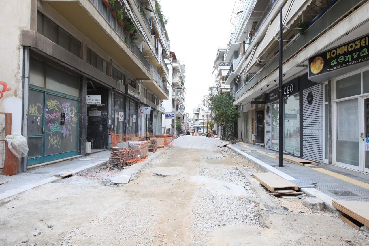 Συνεχίζονται κανονικά τα έργα στην συνοικία του Αγίου Κωνσταντίνου