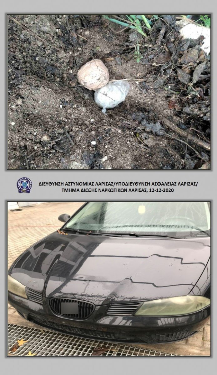 Λάρισα: Είχε θάψει την κοκαΐνη στο έδαφος – Δύο συλλήψεις (φώτο)