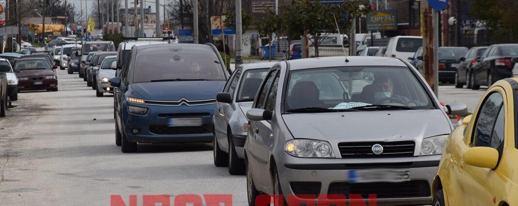 Ηχηρό μήνυμα με αυτοκινητοπομπή από τους πληττόμενους επαγγελματίες της Καρδίτσας