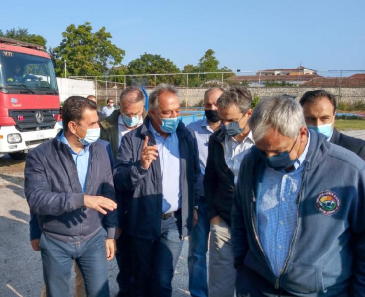 Σε Τρίκαλα και Μεσοχώρα το Σάββατο ο πρωθυπουργός Κ. Μητσοτάκης