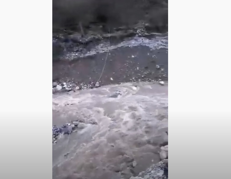Κινδυνεύει η Αθαμανία. Διολισθαίνει ολόκληρη πλαγιά (video)