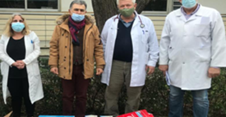 Ανθρώπινη πράξη: Δωρεά αναπνευστικών συσκευών στο Γενικό Νοσοκομείο Λάρισας