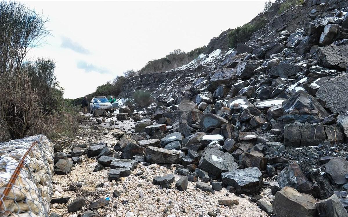 Αυτές οι περιοχές στη Λάρισα κινδυνεύουν με κατολισθήσεις