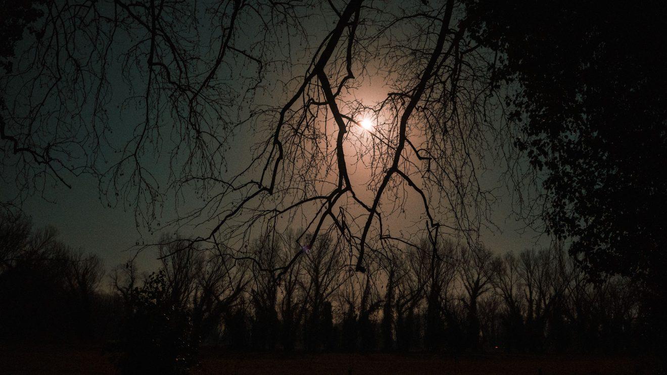 """Εντυπωσιακό το """"φεγγάρι του χιονιού"""" από τα Τρίκαλα"""