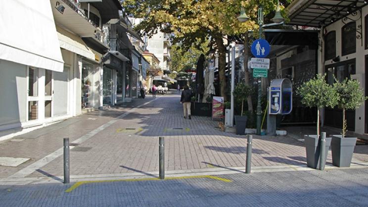 «Ηλεκτρονικό μάτι» θα ελέγχει την είσοδο στους πεζόδρομους της Λάρισας