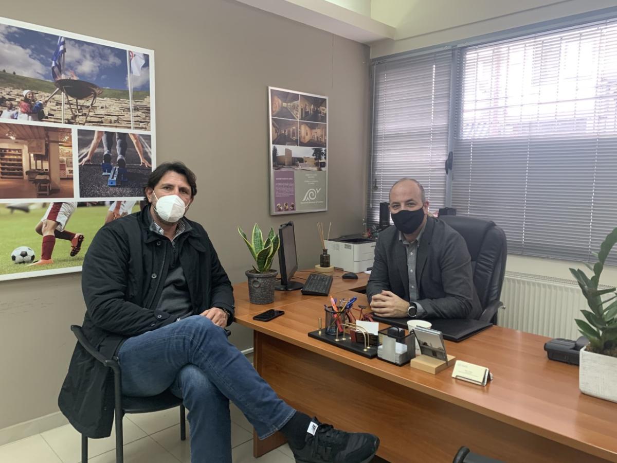 Τον Νίκο Λιούπα επισκέφθηκε ο Ευθύμης Ρεντζιάς