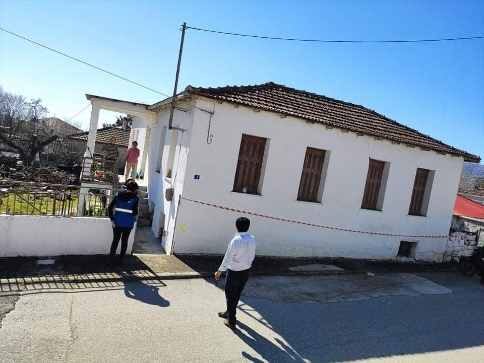"""""""Μη κατοικήσιμα"""" κρίθηκαν 25 σπίτια στο Ζάρκο μετά τον σεισμό στην Ελασσόνα"""