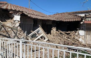 Λάρισα: Έκτακτη σύσκεψη σήμερα για τα προβλήματα του σεισμού