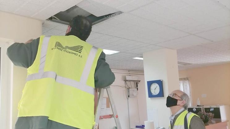 Γενικό Νοσοκομείο Λάρισας και σεισμός