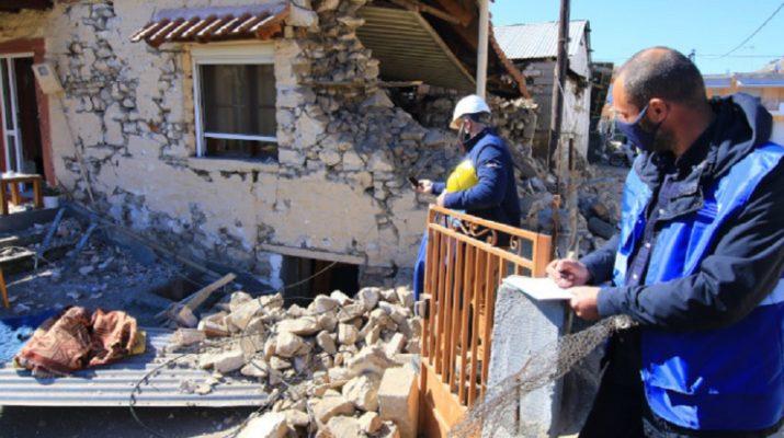 Σεισμός Ελασσόνα: Συνδρομή των Ενόπλων Δυνάμεων στις σεισμόπληκτες περιοχές