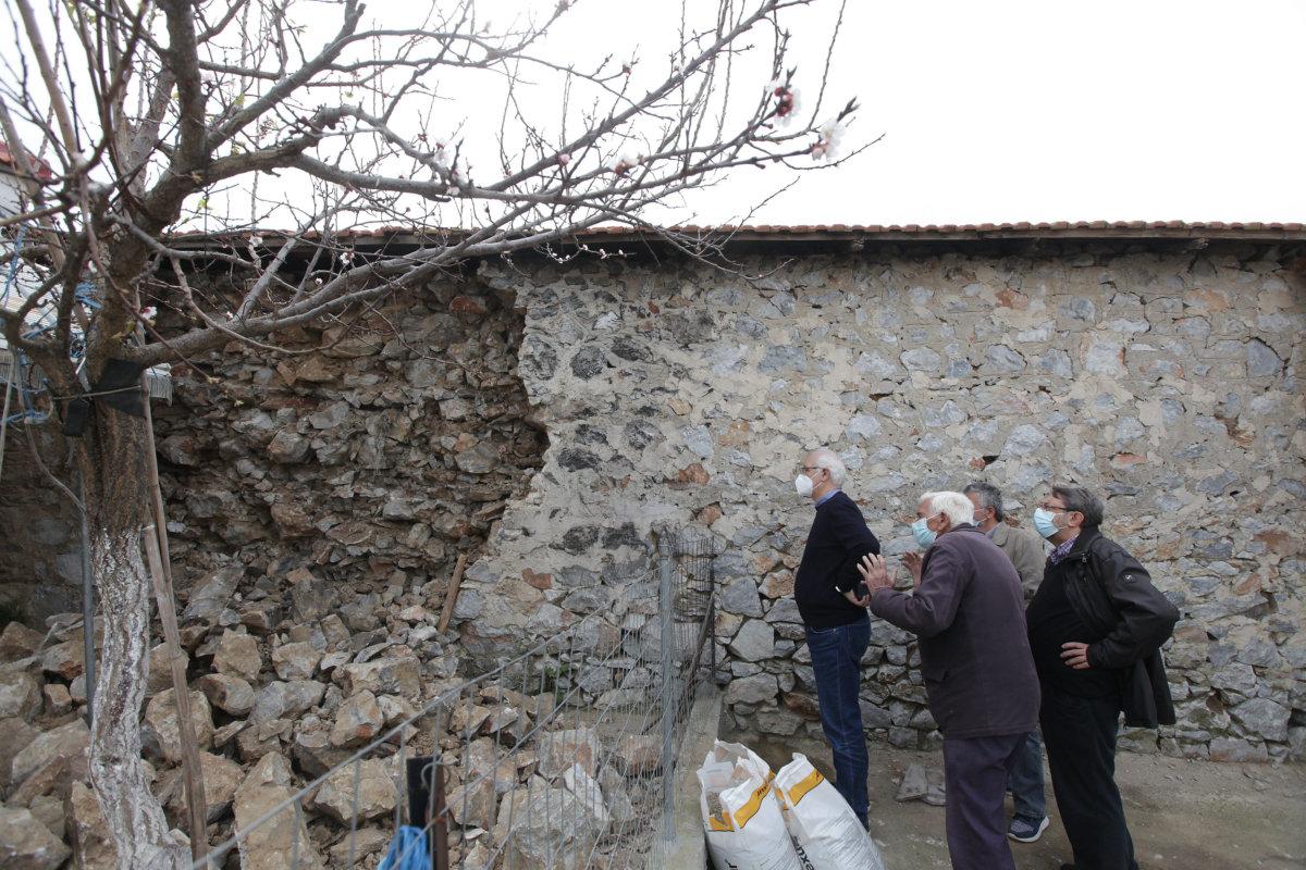 Αυτοψία του δημάρχου Λαρισαίων στα χωριά της Κοιλάδας