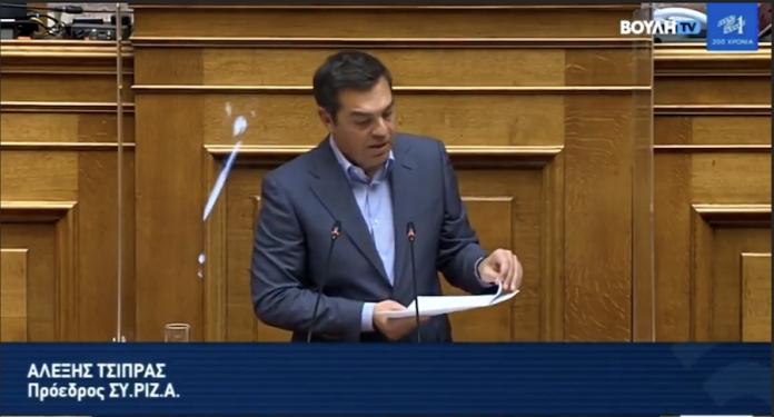 Μπαράζ καταγγελιών κατά Σ. Νικολάου από τον Τσίπρα στη Βουλή-Βίντεο