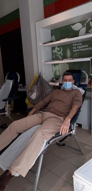 Εθελοντική αιμοδοσία στο ΚΕΘΕΑ ΕΞΟΔΟΣ