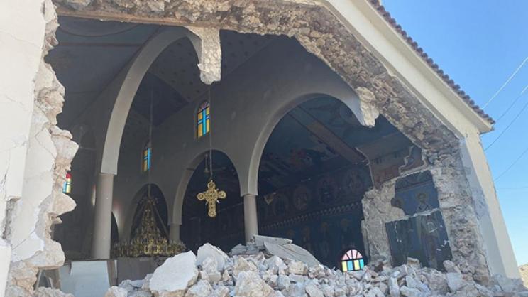 Τα μνημεία της Λάρισας «είχαν Αγιο»!