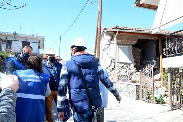 1.343 σπίτια μη κατοικήσιμα στις σεισμόπληκτες περιοχές της Λάρισας