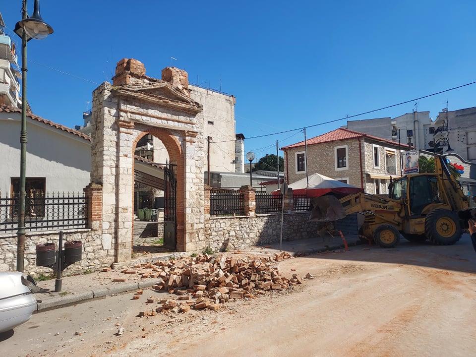 Νομός Λάρισας: Ο σεισμός προκάλεσε ζημιές σε πολιτιστικά μνημεία