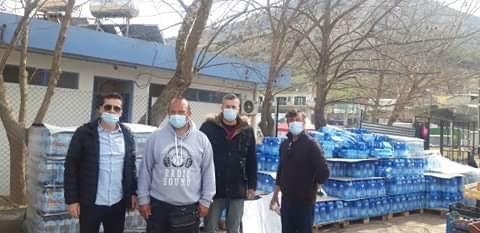 Στήριξη της ΕΠΣΝ Λάρισας προς τους σεισμόπληκτους