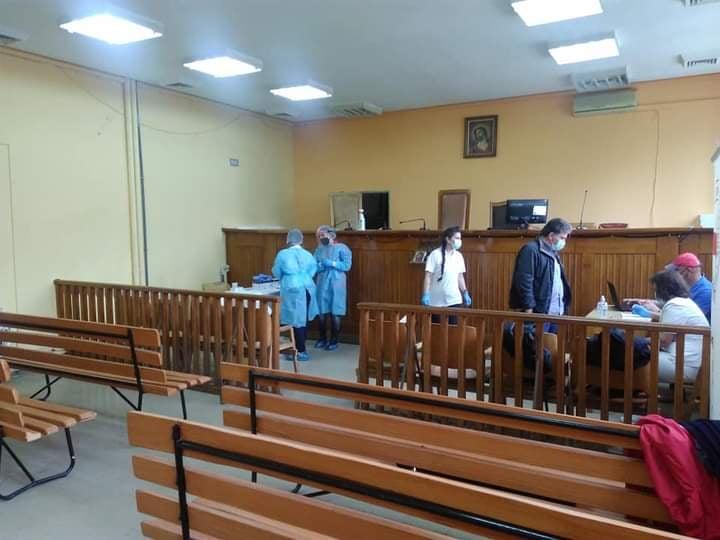 «Καθαρά» τα Δικαστήρια της Λάρισας από κορωνοϊό