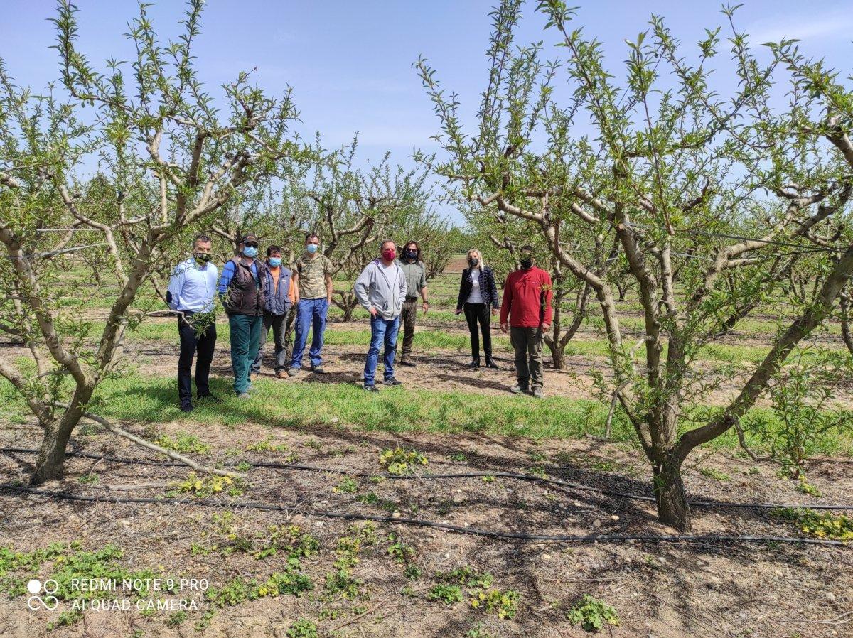 Σε πληγείσες καλλιέργειες στη Γιάννουληη Καραλαριώτου