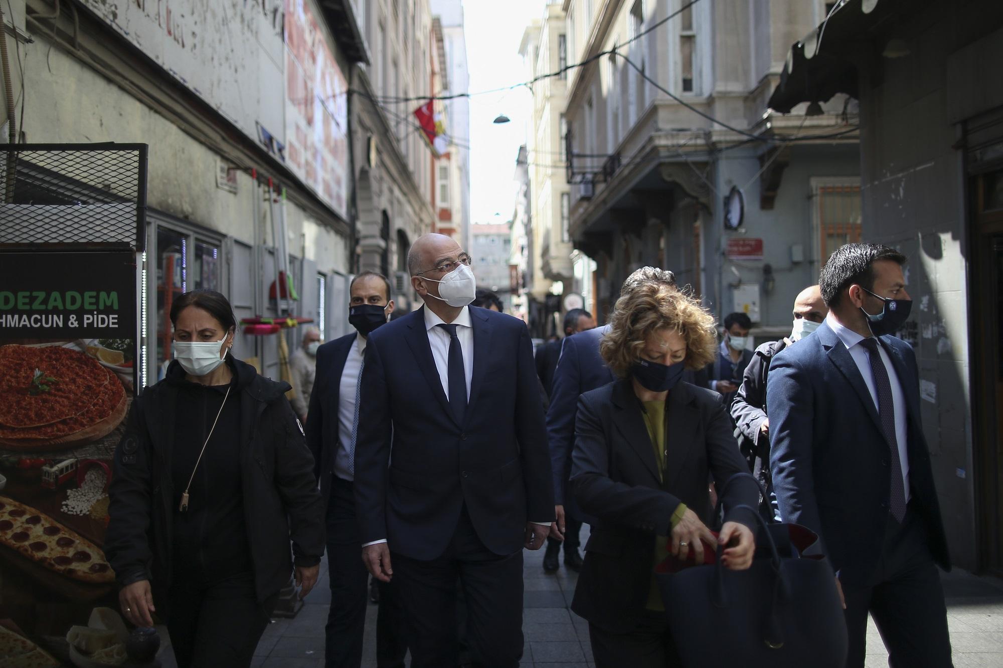 Συνάντηση Δένδια – Ερντογάν στην Άγκυρα την Πέμπτη