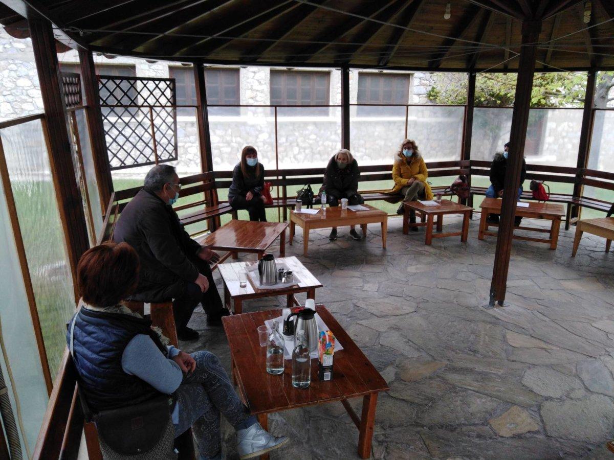 Συνάντηση Γ. Λαμπρούλη με το σωματείο εργαζόμενων του ΚΕΘΕΑ στη Λάρισα