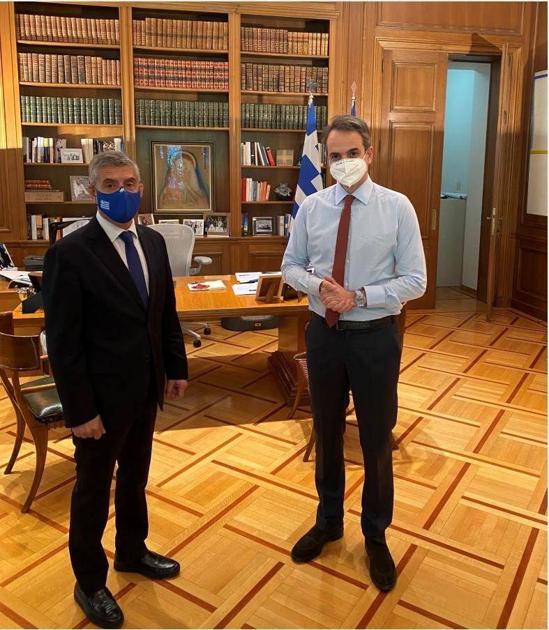 Συνάντηση με τον Πρωθυπουργό είχε ο Περιφερειάρχης Θεσσαλίας
