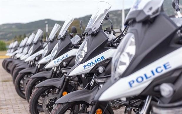 Θεσσαλία: Ενίσχυση του στόλου της ΕΛ.ΑΣ. με 16 νέες δίκυκλες μοτοσικλέτες