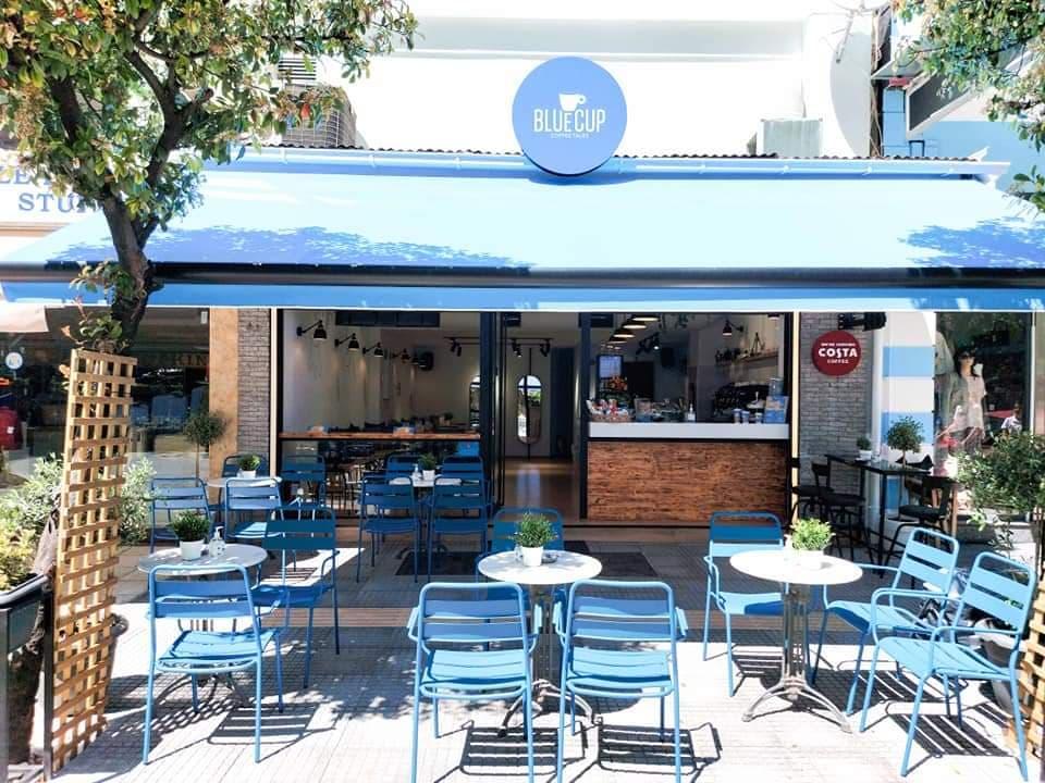 BLUE CUP. Το πρώτο κατάστημα με COSTA Coffee στα Τρίκαλα (εικόνες)