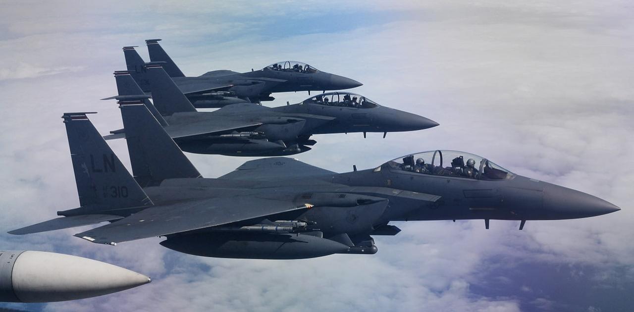 Αμερικανικά F-15 στη Λάρισα