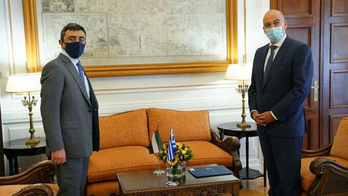 Επικοινωνία Ν. Δένδια με τον Υπουργό Εξωτερικών των ΗΑΕ