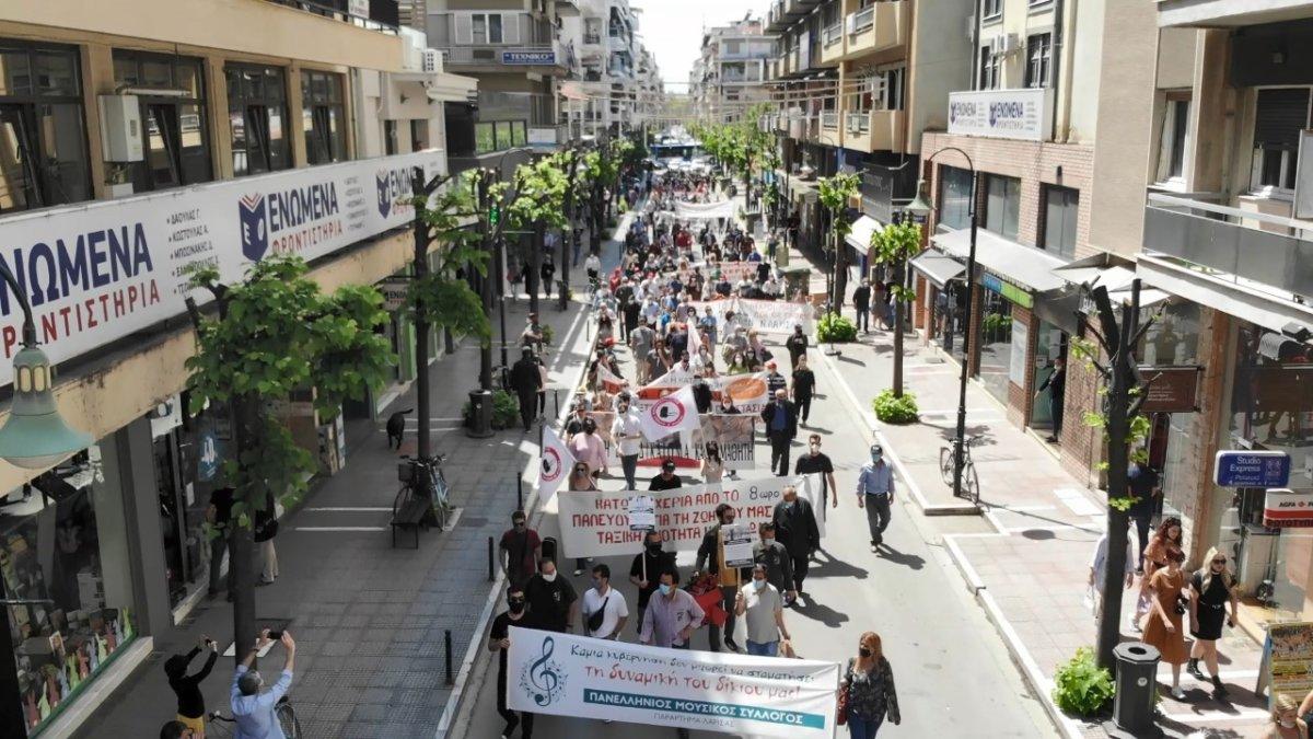 Η γενική συνέλευση του παραρτήματος Λάρισας του ΠΜΣ